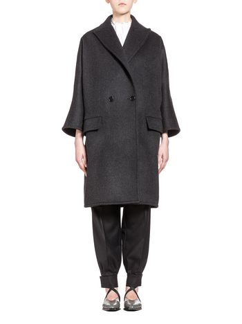 Marni Coat in double heavy duty felt Woman