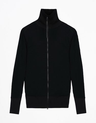 Y-3 DBL JSY ZIP TOP SWEATSHIRTS man Y-3 adidas