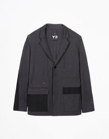 Y-3 TERRY MIX BLAZER COATS & JACKETS man Y-3 adidas