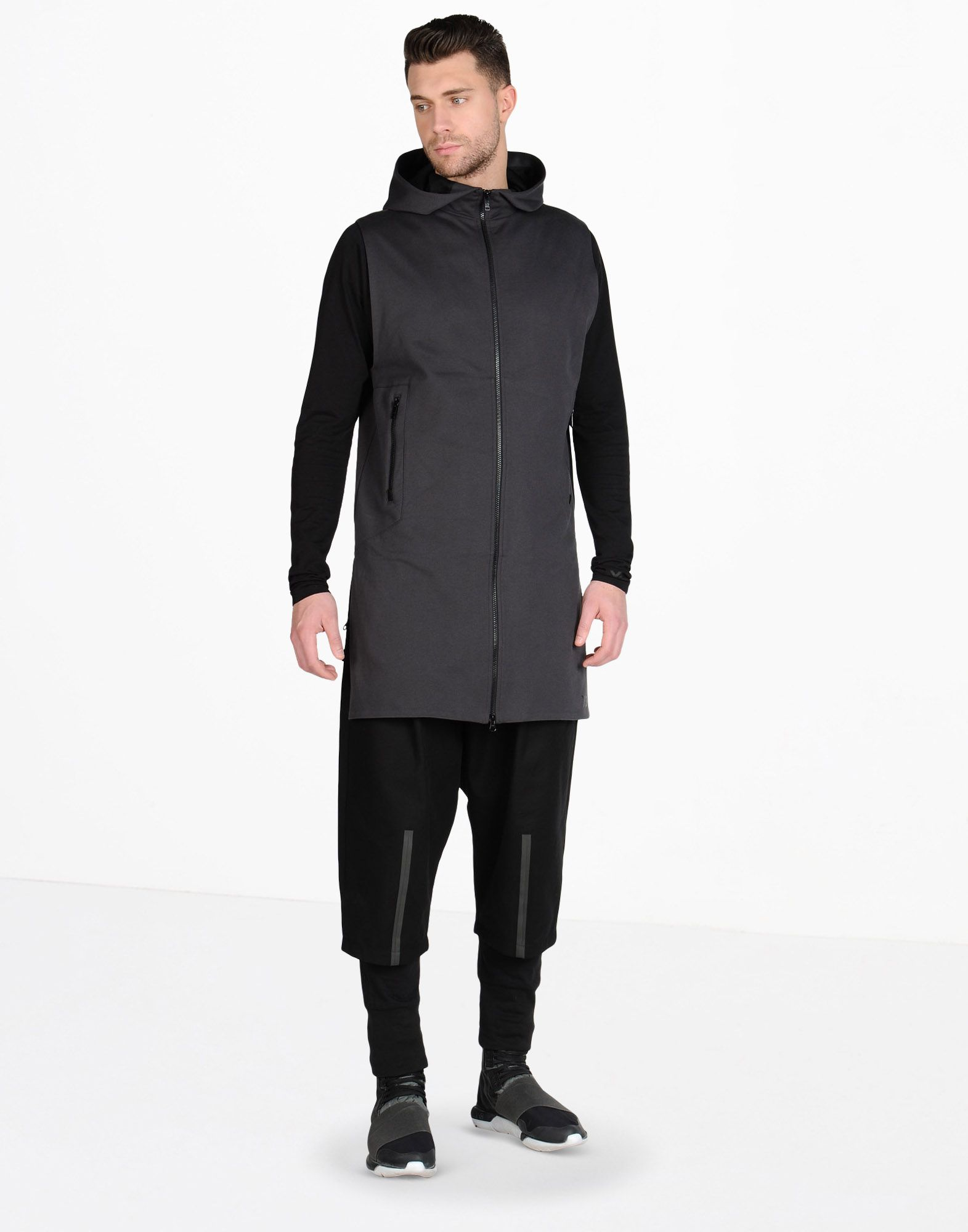Y-3 3-STRIPES FT COVER-UP COATS & JACKETS man Y-3 adidas