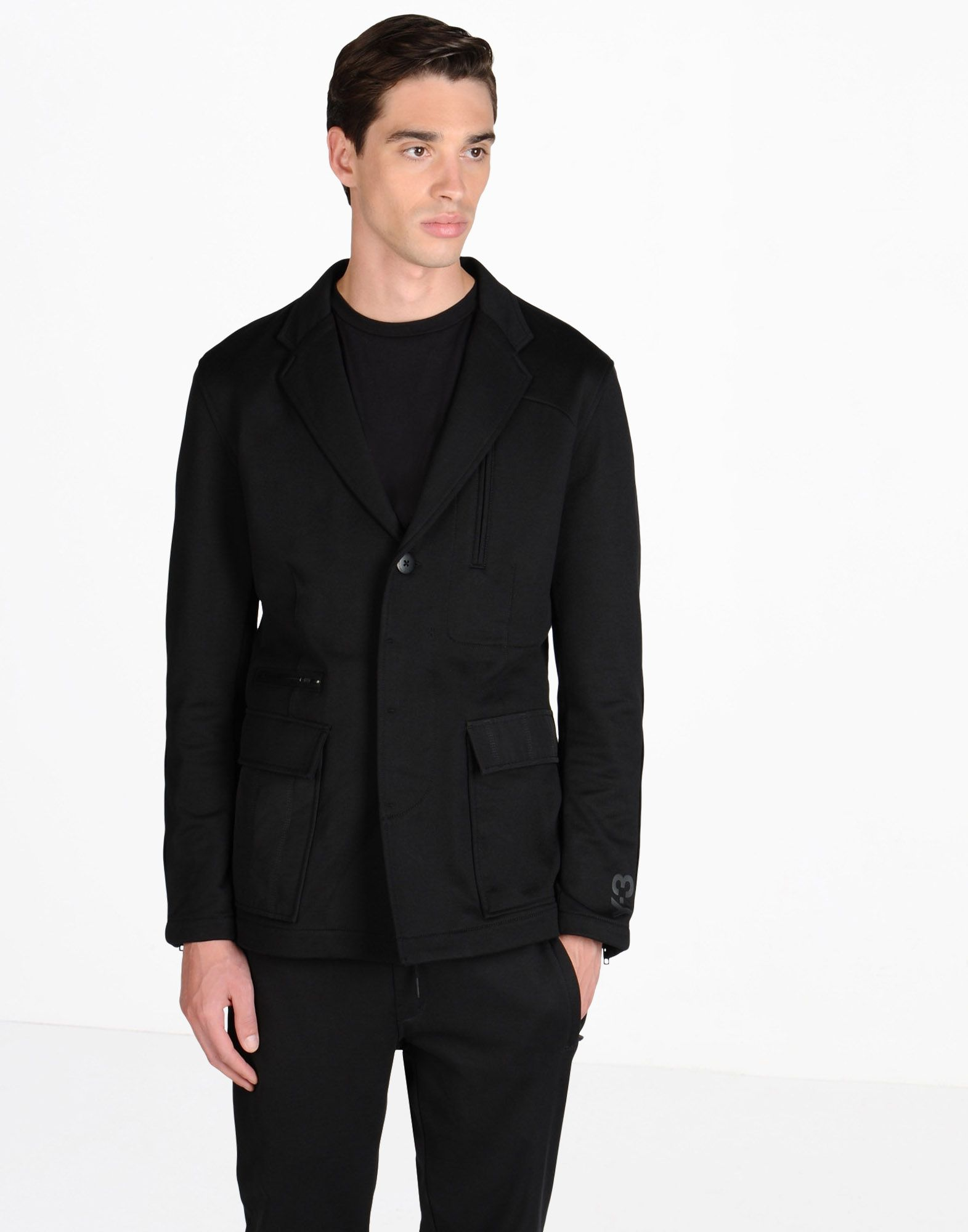 Y-3 TERRY MIX BLAZER COATS & JACKETS man Y-3 adidas