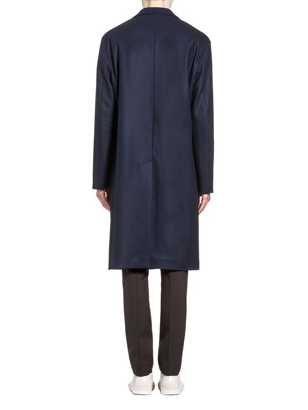 Marni Wool coat with half-belt closure Man