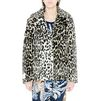 STELLA McCARTNEY Leopard Fur Free Fur Dan Coat Short D d