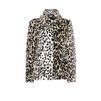 STELLA McCARTNEY Leopard Fur Free Fur Dan Coat Short D f
