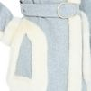 STELLA McCARTNEY Felt Grey Galiena Coat Long D a