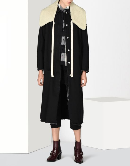 MM6 MAISON MARGIELA Long denim coat Coat D r