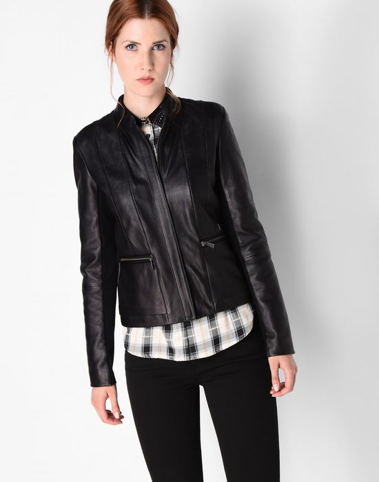 Leather Long Jackets For Women