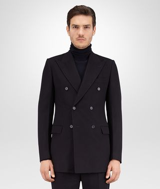 JACKET IN DARK NAVY CASHMERE