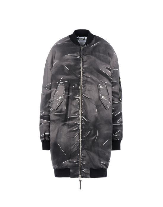 Mid-length jacket Woman MOSCHINO