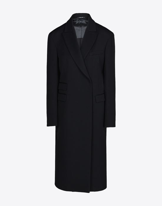 fab67cf089ff MAISON MARGIELA 4 Classic long wool coat Coat       pickupInStoreShipping info