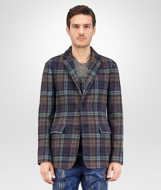 JACKET IN MULTICOLOR BOILED WOOL