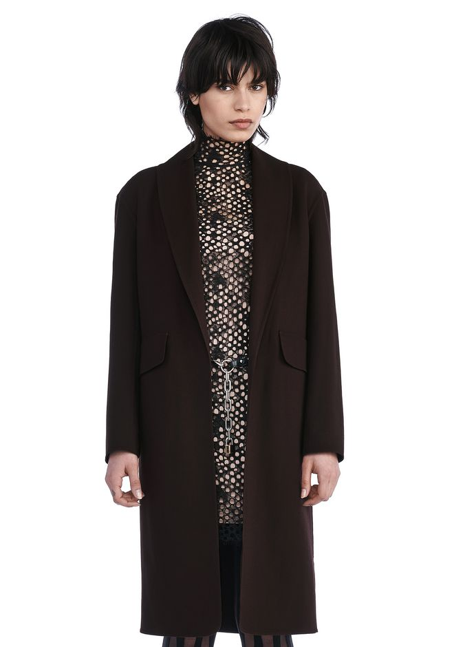 ALEXANDER WANG JACKETS AND OUTERWEAR  Women SHAWL COLLAR BLAZER