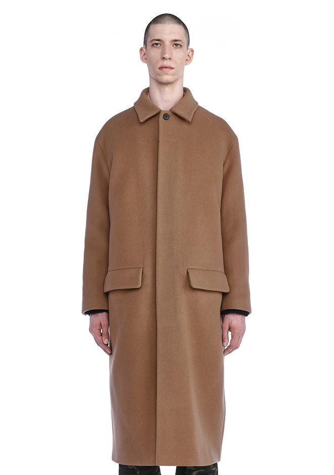 ALEXANDER WANG JACKETS AND OUTERWEAR  Men ELONGATED CAR COAT