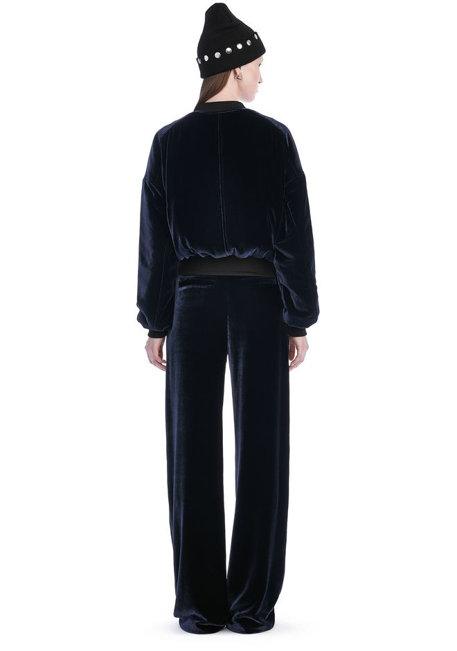T by ALEXANDER WANG SILK VELVET BOMBER JACKETS AND OUTERWEAR  Adult 12_n_r