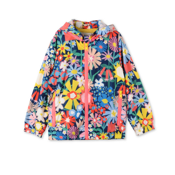 Floral Collage Scout Jacket
