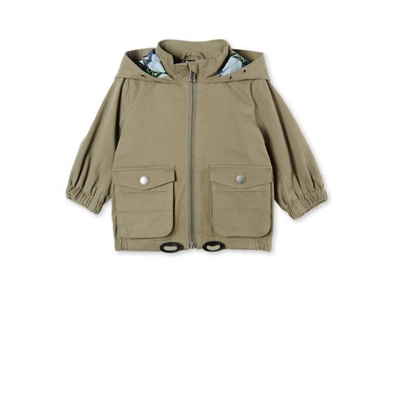 Khaki Sullivan Parka Jacket