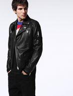 DIESEL L-JASPER-ED Leather jackets U a