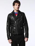 DIESEL L-JASPER-ED Leather jackets U f