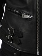 DIESEL L-JASPER-ED Leather jackets U g