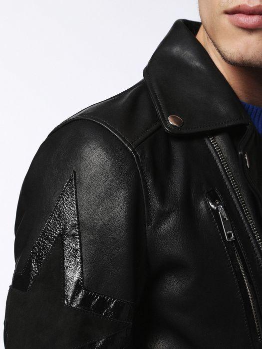 DIESEL L-JASPER-ED Leather jackets U c