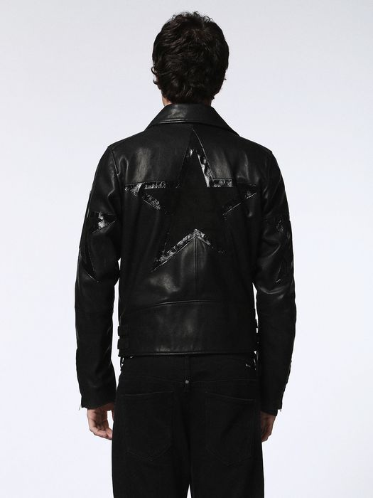 DIESEL L-JASPER-ED Leather jackets U e