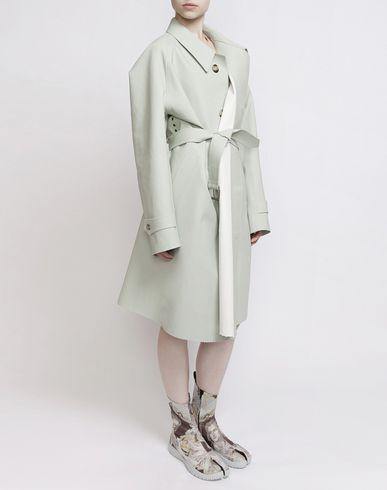 MAISON MARGIELA Coat D Look 1: Oversized Celadon Trench f