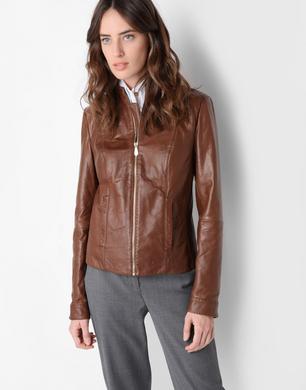 TRUSSARDI - Leather jacket