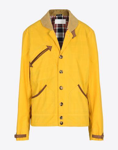 MAISON MARGIELA Look 27: Waxed Cotton Hunting Jacket Jacket D f