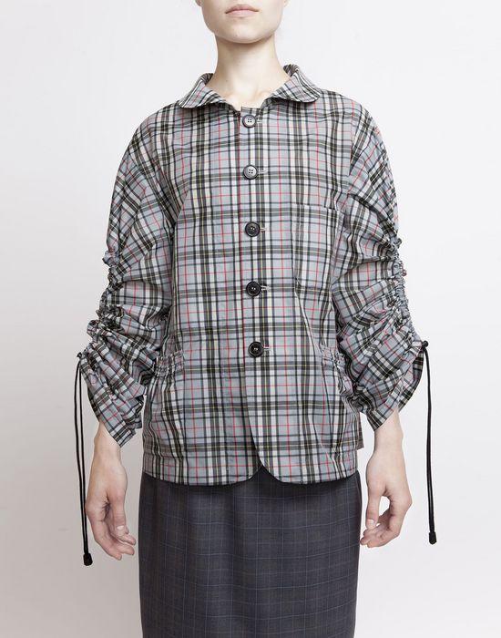 MAISON MARGIELA Look 27: Checked Workwear Jacket Jacket D d