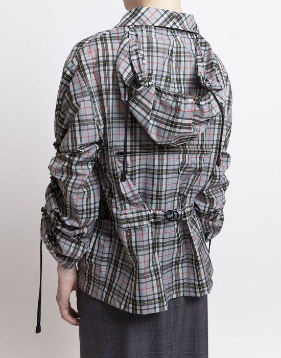 MAISON MARGIELA Look 27: Checked Workwear Jacket Jacket D r