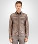 BOTTEGA VENETA STEEL CRINKLE LAMB SHIRT Coat or Jacket U fp