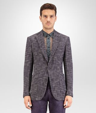 JACKET IN COTTON TWEED MULTICOLOR