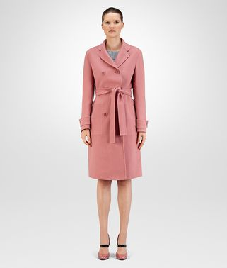 COAT IN DUSTY ROSE DOUBLE CASHMERE