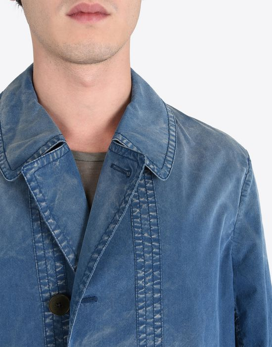 MAISON MARGIELA 10 Denim sports jacket Full-length jacket U a