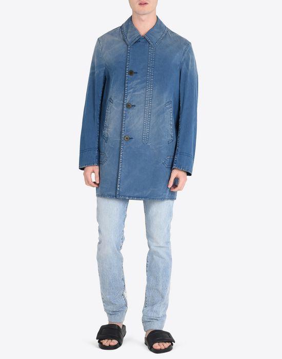 MAISON MARGIELA 10 Denim sports jacket Full-length jacket Man d