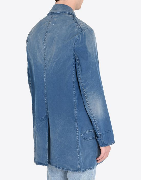 MAISON MARGIELA 10 Denim sports jacket Full-length jacket U e