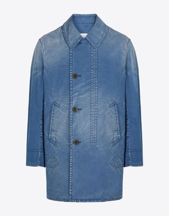 MAISON MARGIELA 10 Denim sports jacket Full-length jacket Man f