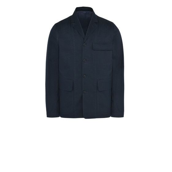 Dark Navy Cotton Drill Jacket