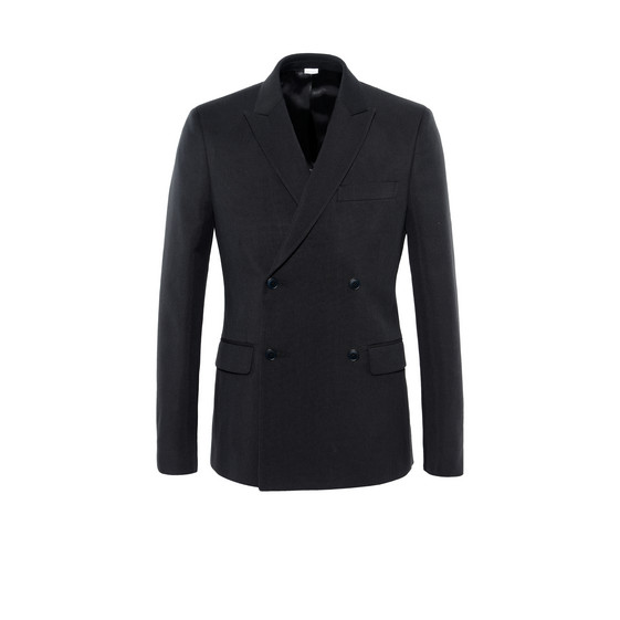 Black Canvas Tailoring Jacket