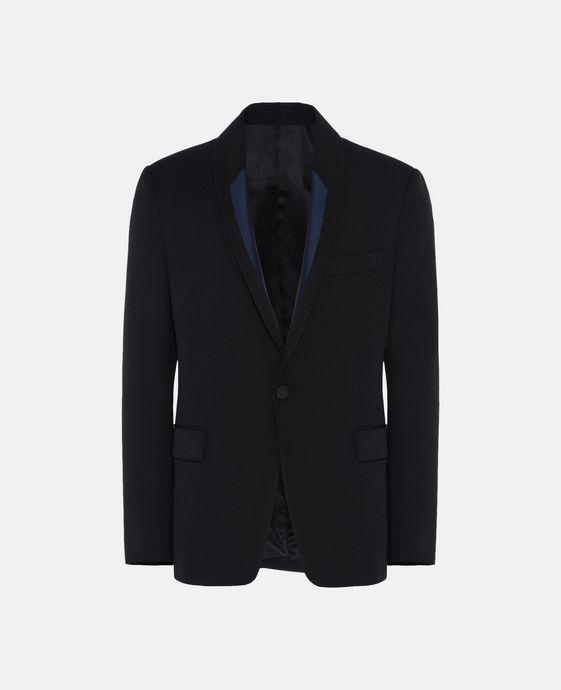 Black Tuxedo Wool Jacket