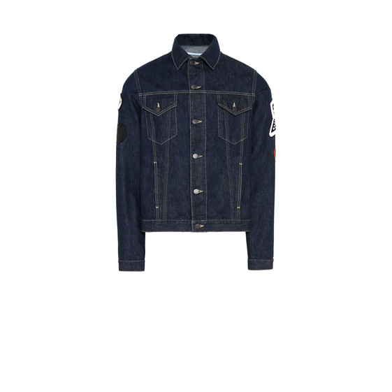 Raw Denim Jacket