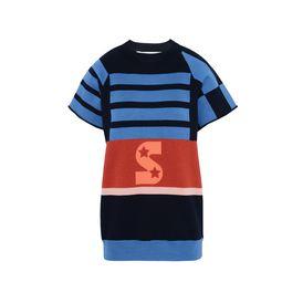 STELLA McCARTNEY Round neck D Short Sleeved Striped Jumper f