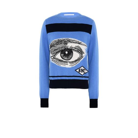 Eye Intarsia Jumper
