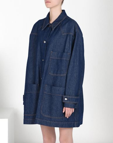 MM6 by MAISON MARGIELA Light jacket D Denim sports jacket f