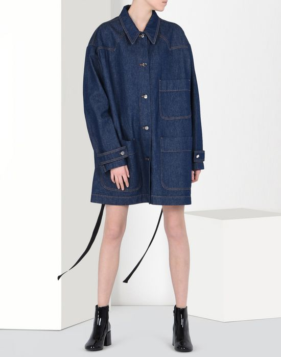 MM6 MAISON MARGIELA Denim sports jacket Light jacket D r