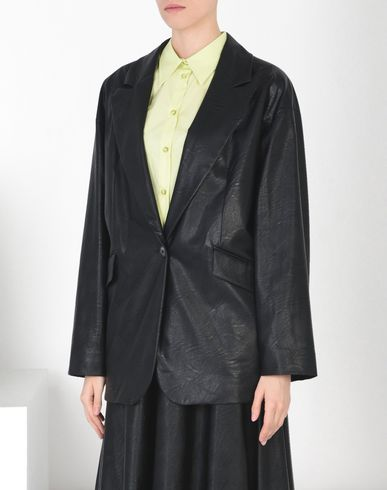 MM6 by MAISON MARGIELA Jacket D Fake leather jacket f