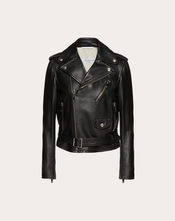 VALENTINO Rockstud Untitled Leather Jacket 41684100OJ