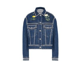 STELLA McCARTNEY Short D Nashville Embroidery Denim Jacket f