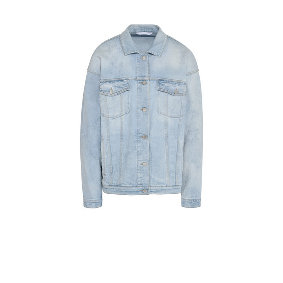 Sun faded Denim Jacket