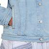 STELLA McCARTNEY Sun faded Denim Jacket Short D a